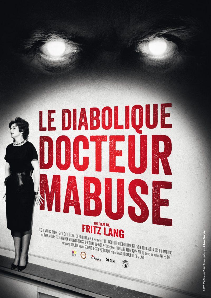 Le Diabolique Dr. Mabuse - Affiche