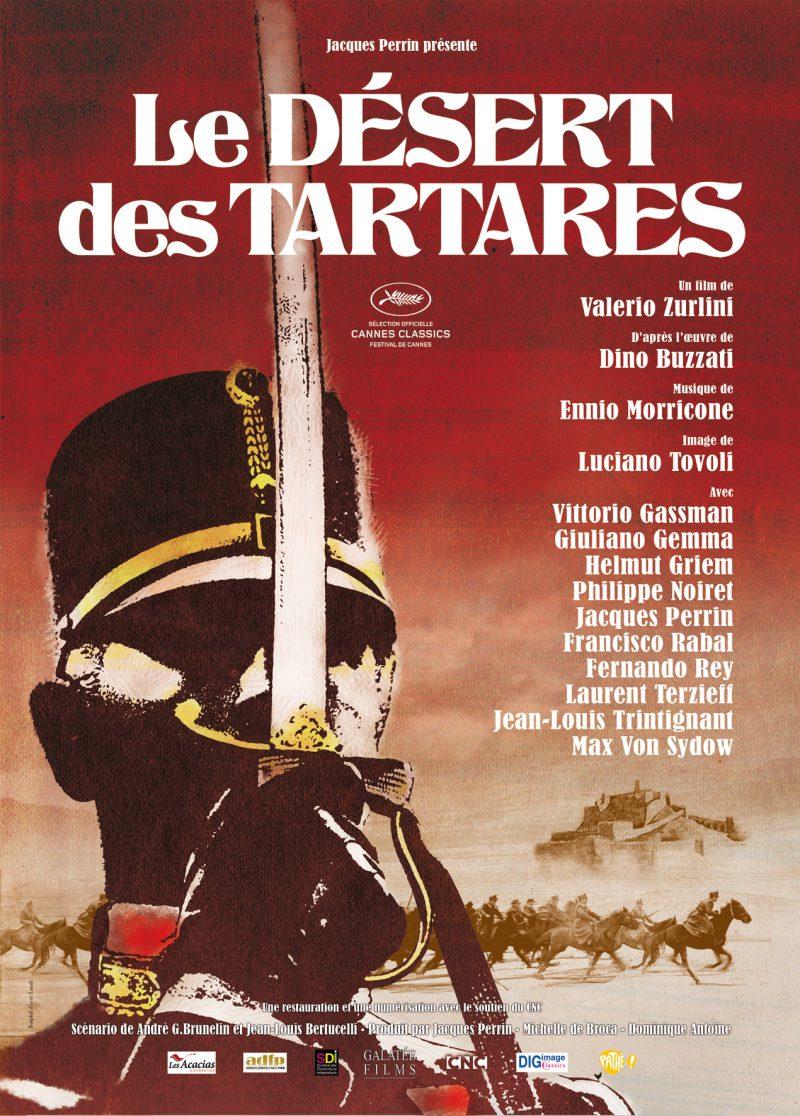 Le Désert des Tartares - Affiche