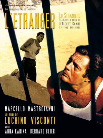 L'Étranger, un film de Luchino VISCONTI, d'après le roman d'Albert CAMUS