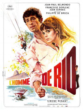 L'Homme de Rio, un film de Philippe DE BROCA