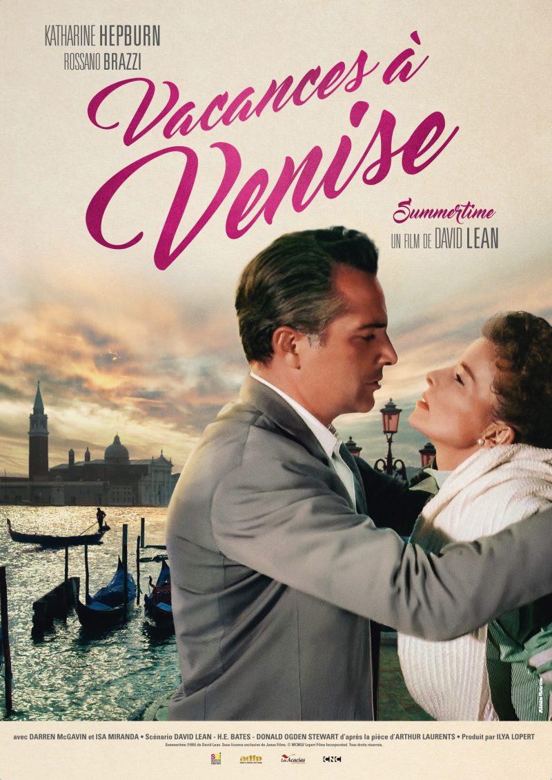 Vacances à Venise - Affiche