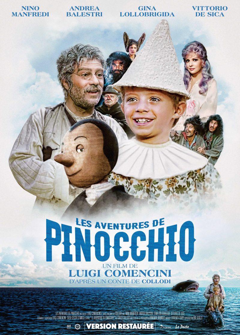 Les aventures de Pinocchio - Affiche