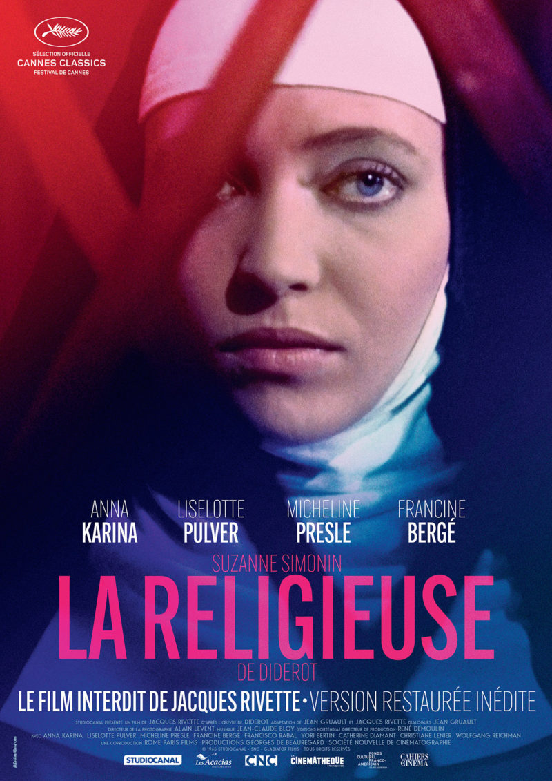 La Religieuse en présence d'Anna Karina