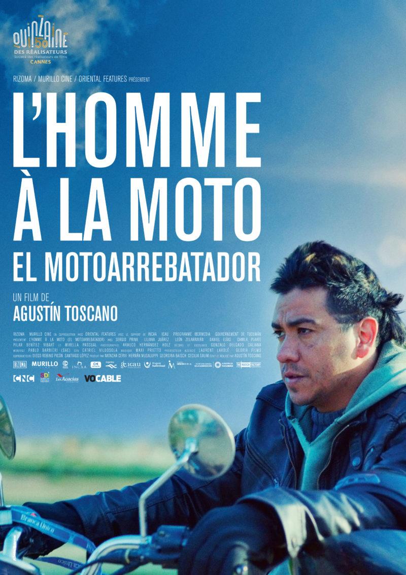L'Homme à la moto - Affiche