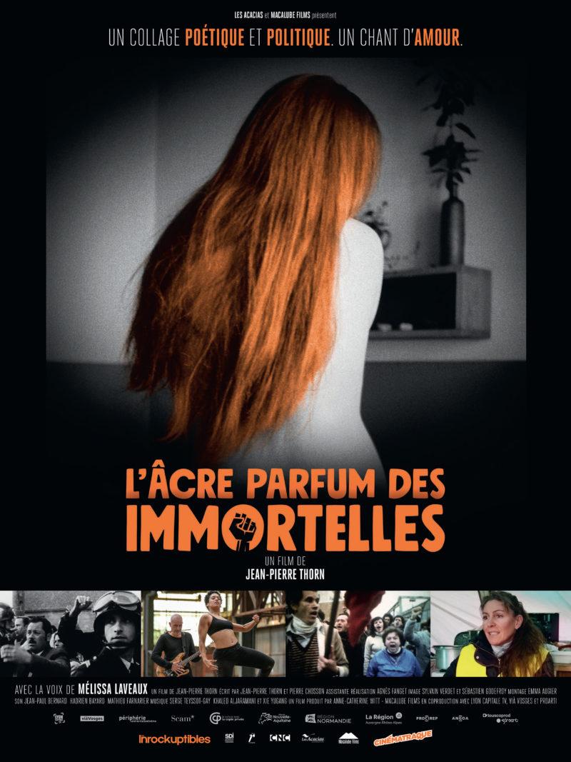 L'Âcre parfum des immortelles - Affiche