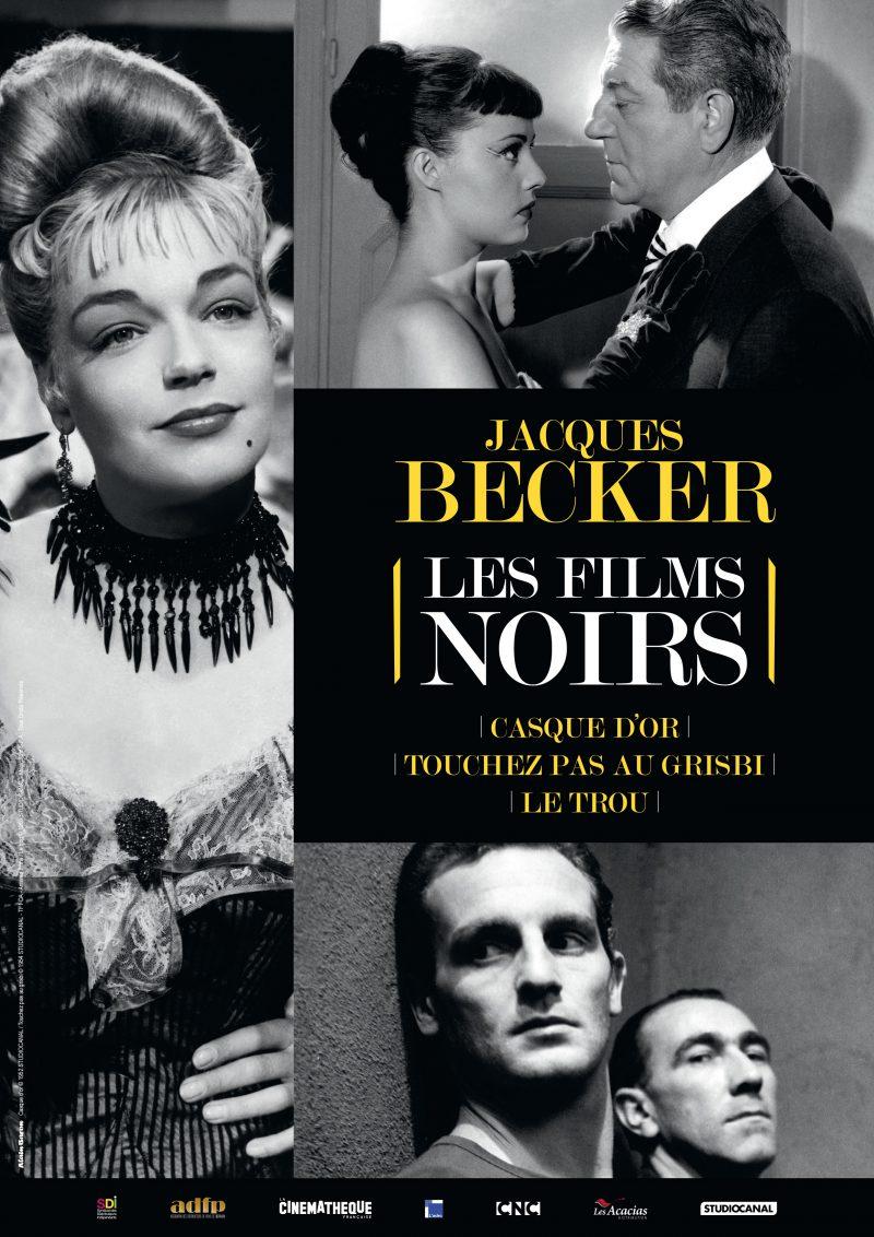 Jacques becker, les films noirs - Affiche