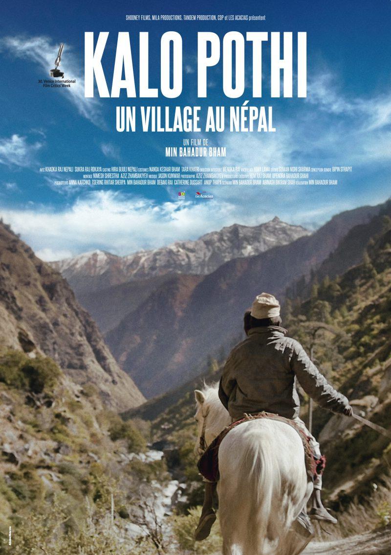 Kalo Pothi, un village au Népal - Affiche