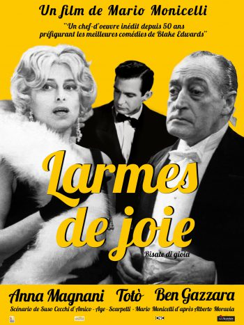 Larmes de joie, un film de Mario MONICELLI
