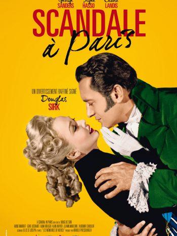 Scandale à Paris, un film de Douglas SIRK