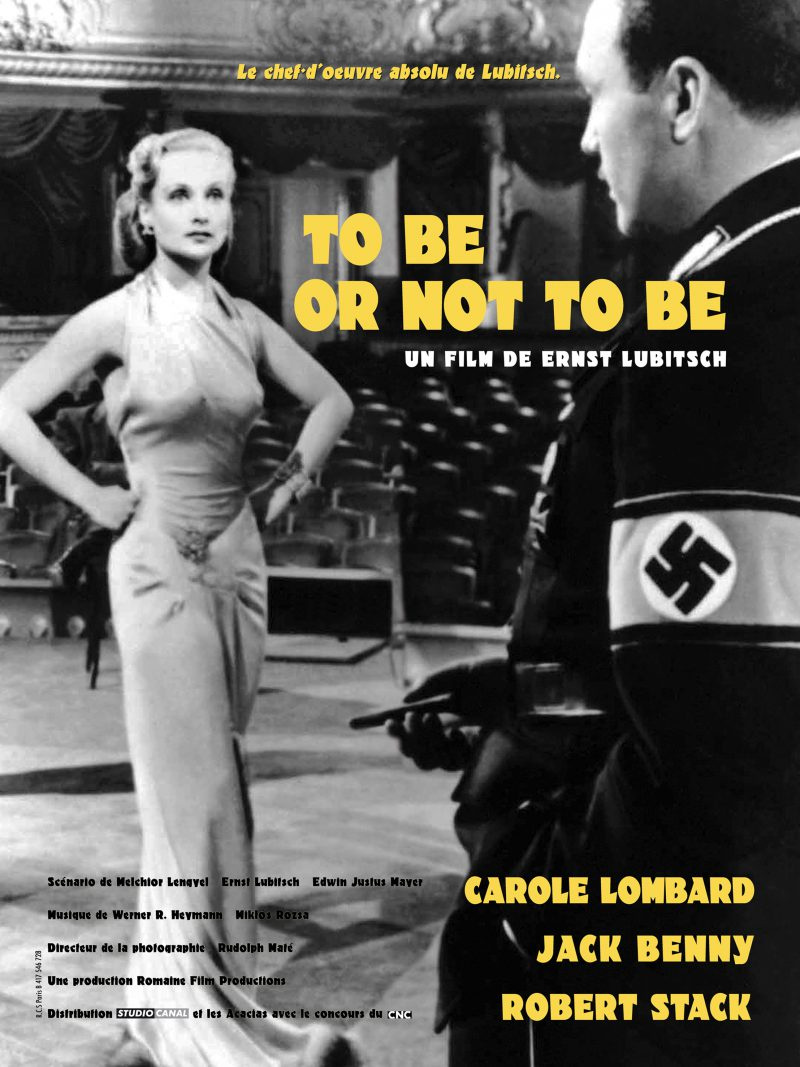 To be or not to be - Affiche