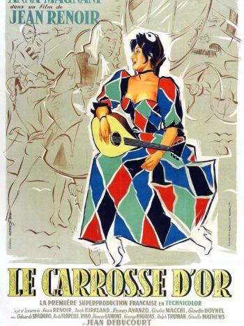 Le Carrosse d'or, un film de Jean RENOIR