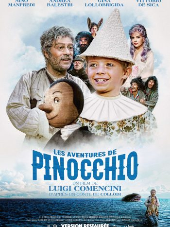 Les aventures de Pinocchio, un film de Luigi Comencini
