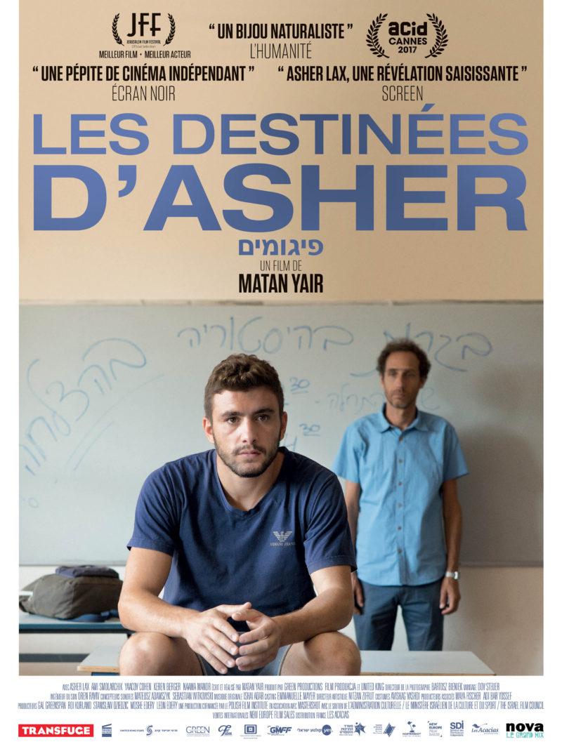 Les Destinées d'Asher - Affiche