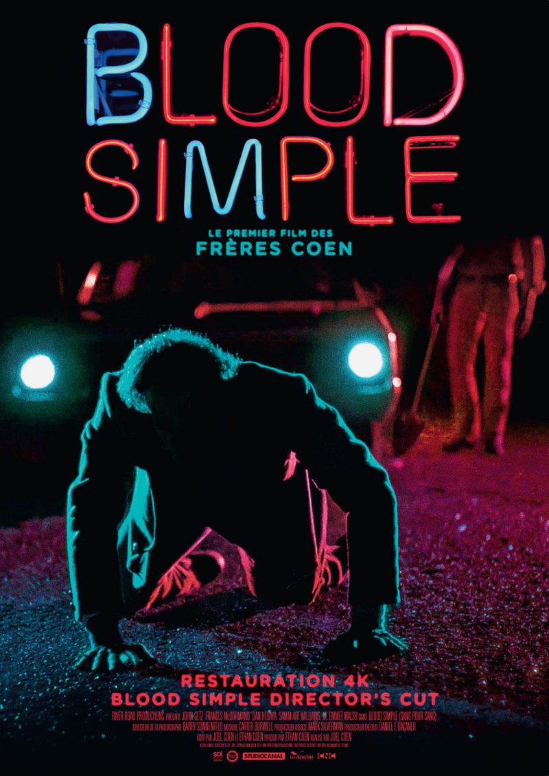 Blood Simple (Director's cut) - Affiche