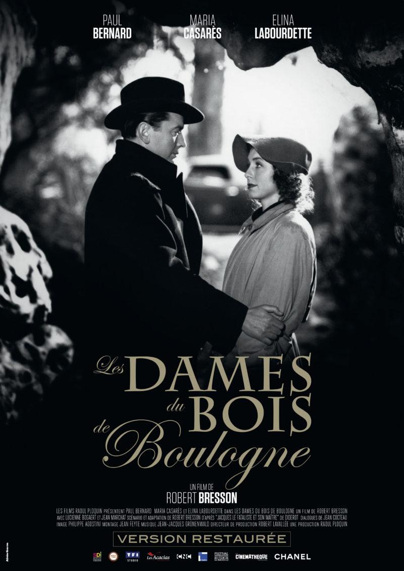 Les Dames du bois de Boulogne - Affiche
