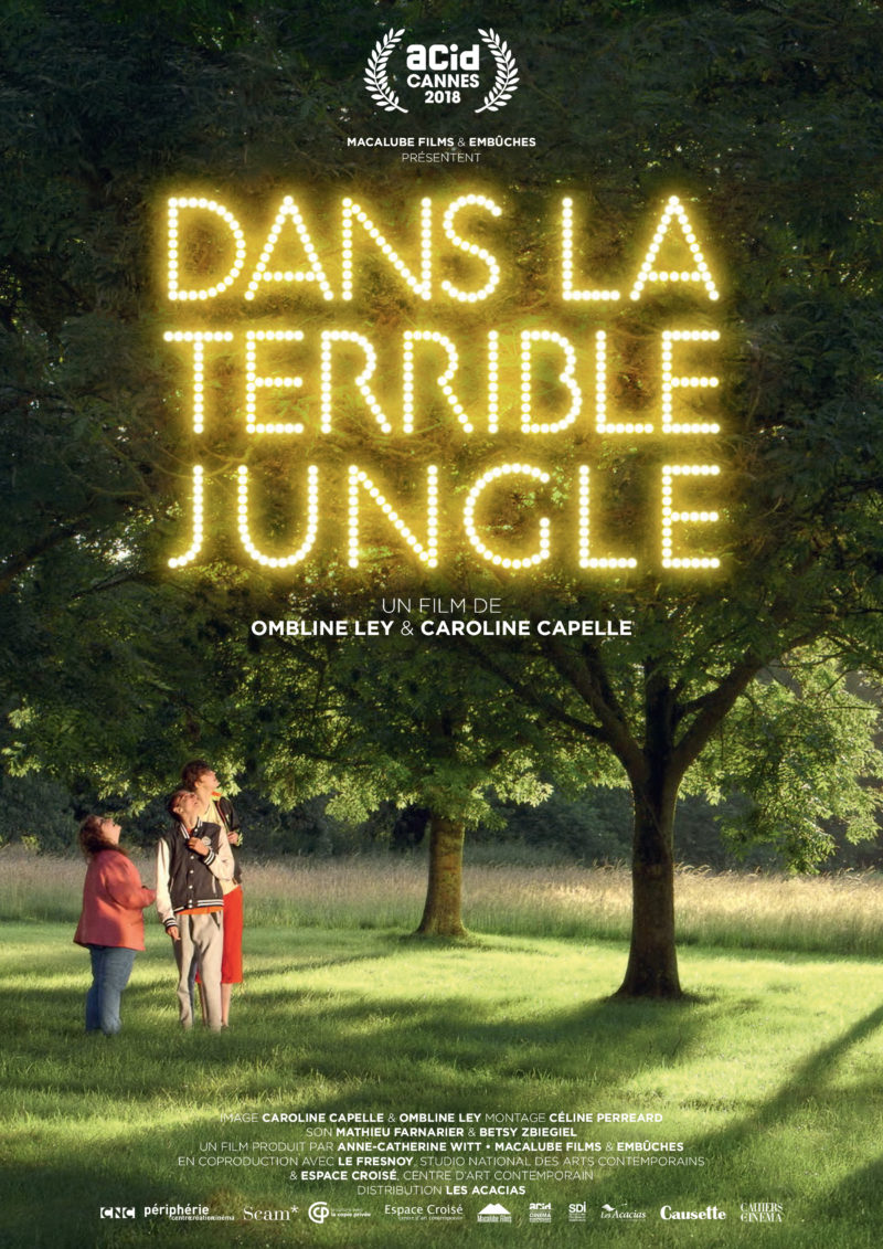 Dans la terrible jungle - Affiche