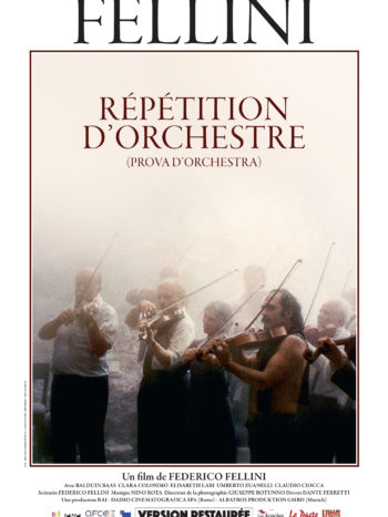 Répétition d'orchestre, un film de Federico Fellini