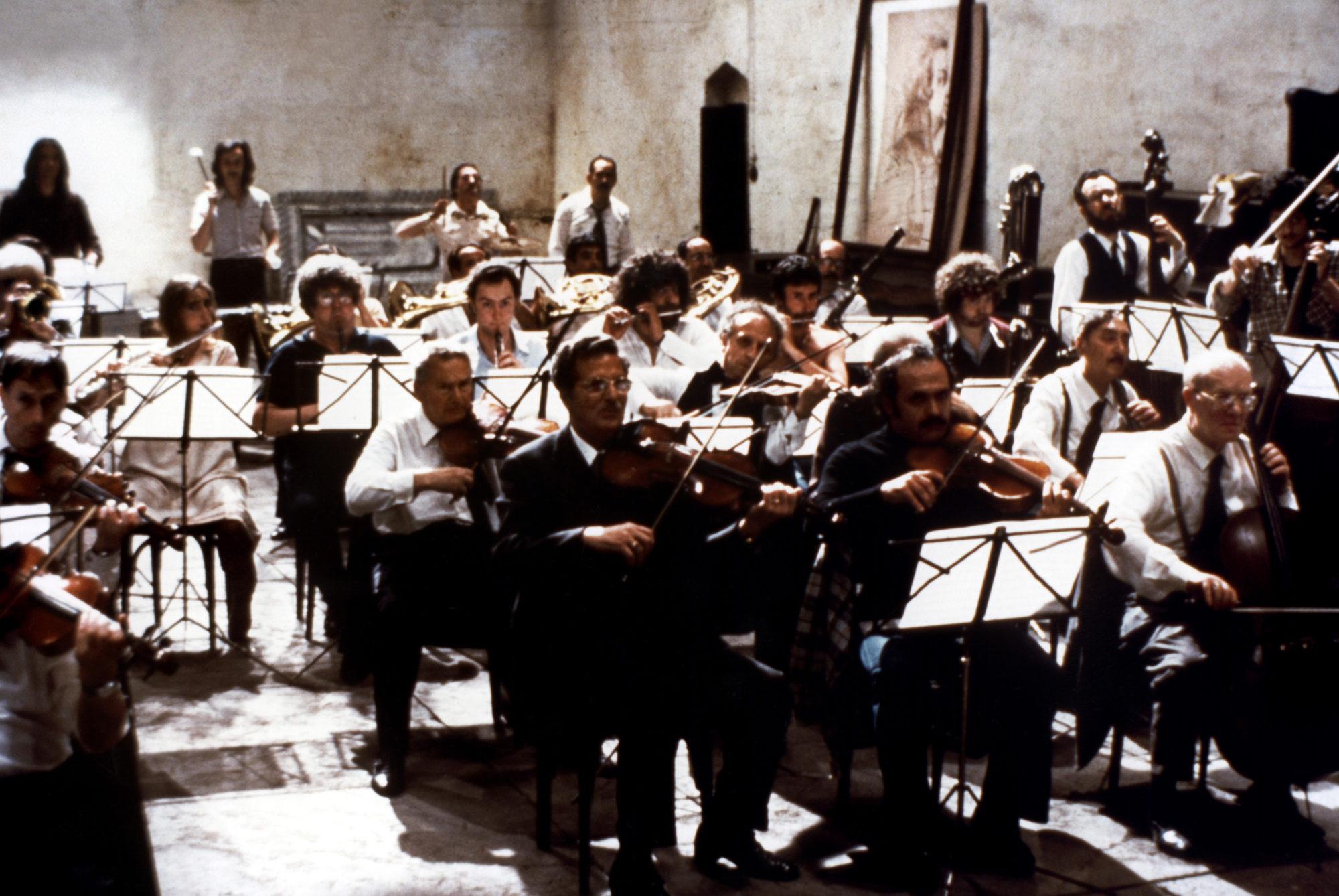 répétition d'orchestre fellini