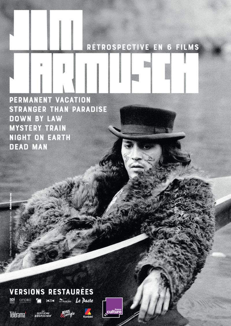 Rétrospective Jim Jarmusch - Affiche