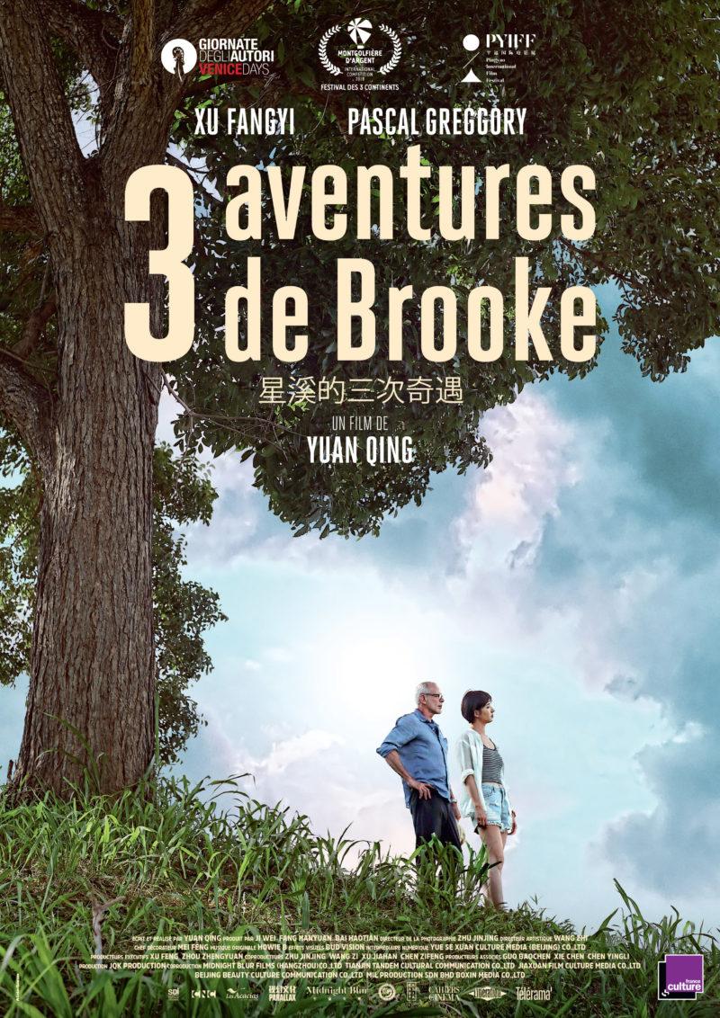 3 aventures de Brooke - Affiche