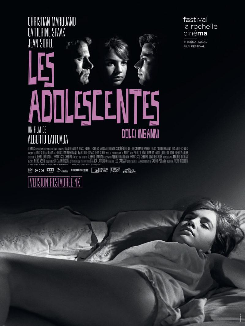 Les Adolescentes - Affiche