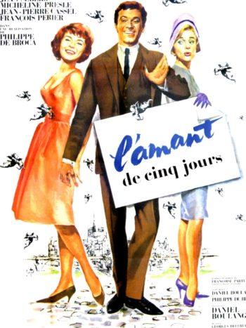 L'Amant de cinq jours, un film de Philippe de Broca