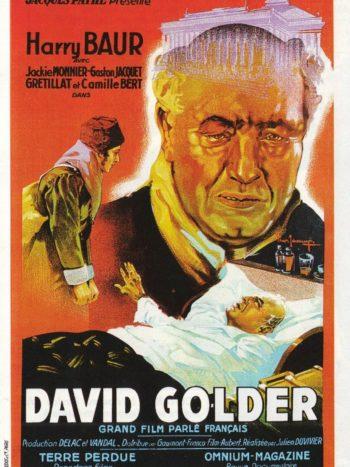 David Golder, un film de Julien Duvivier