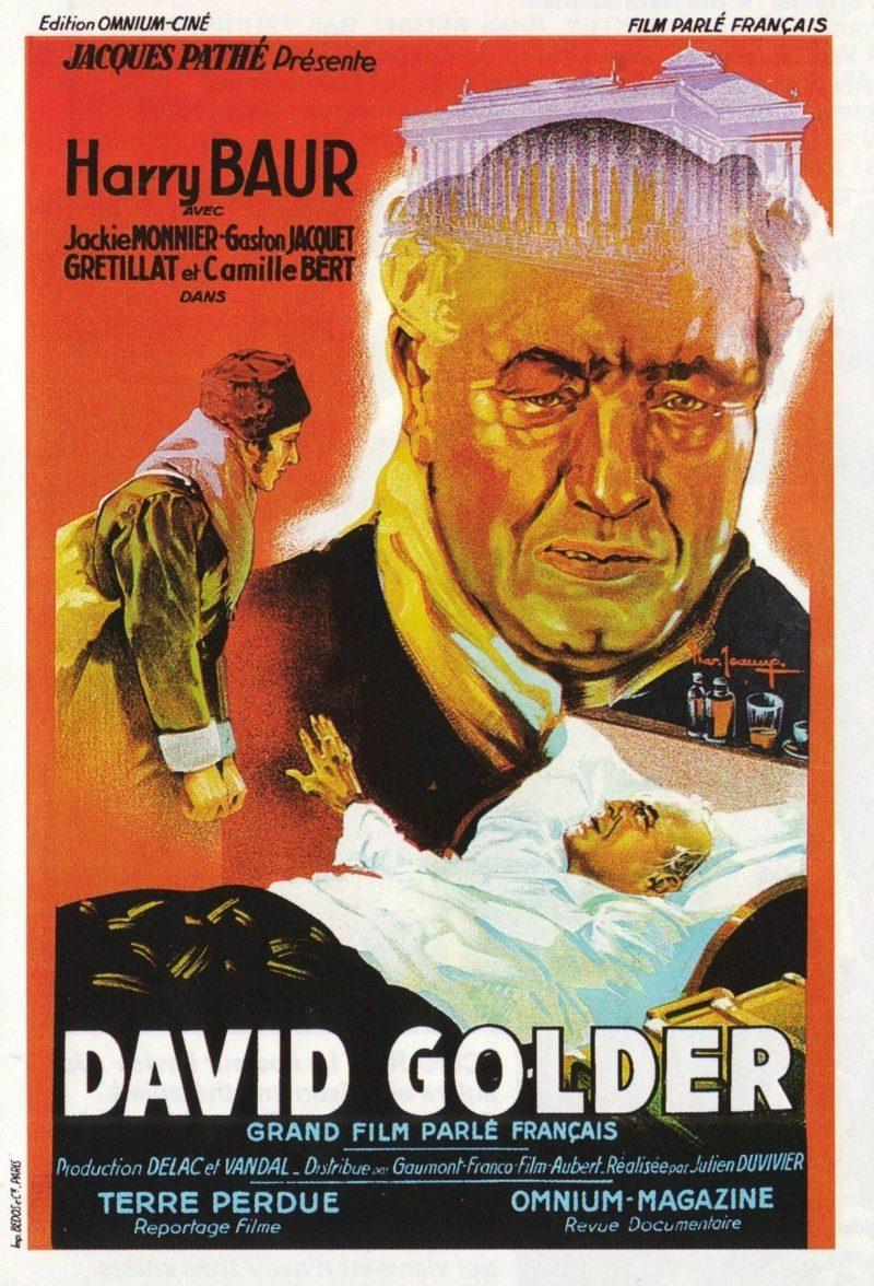 David Golder - Affiche