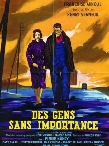 Des gens sans importance, un film de Henri Verneuil