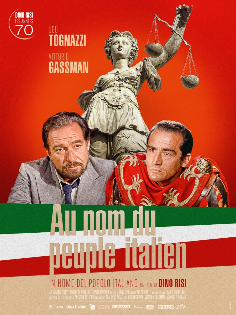 Au nom du peuple italien - Affiche