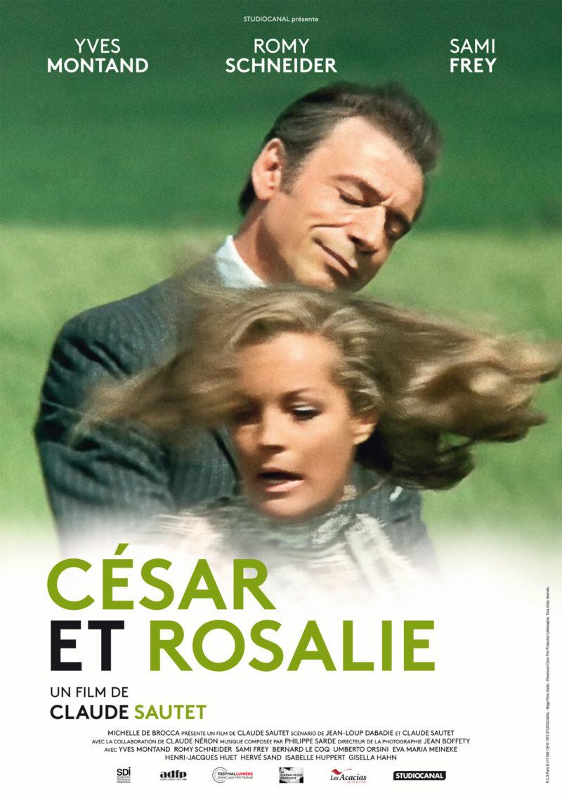César et Rosalie - Affiche