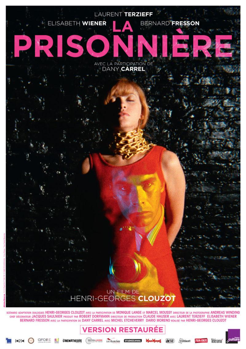 La Prisonnière - Affiche