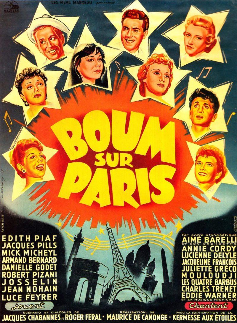 Boum sur Paris - Affiche