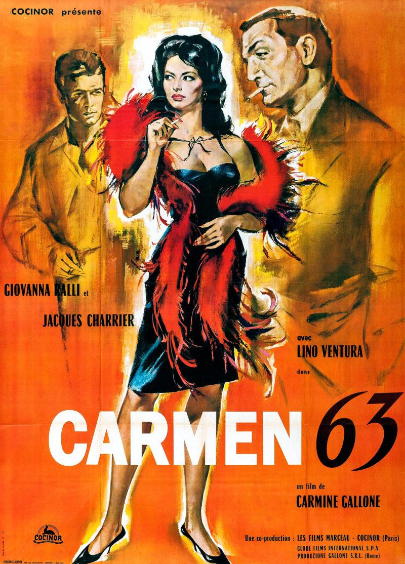 Carmen 63 - Affiche