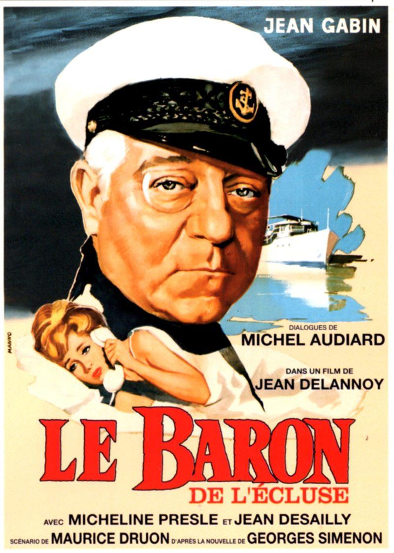 Le Baron de l'écluse - Affiche