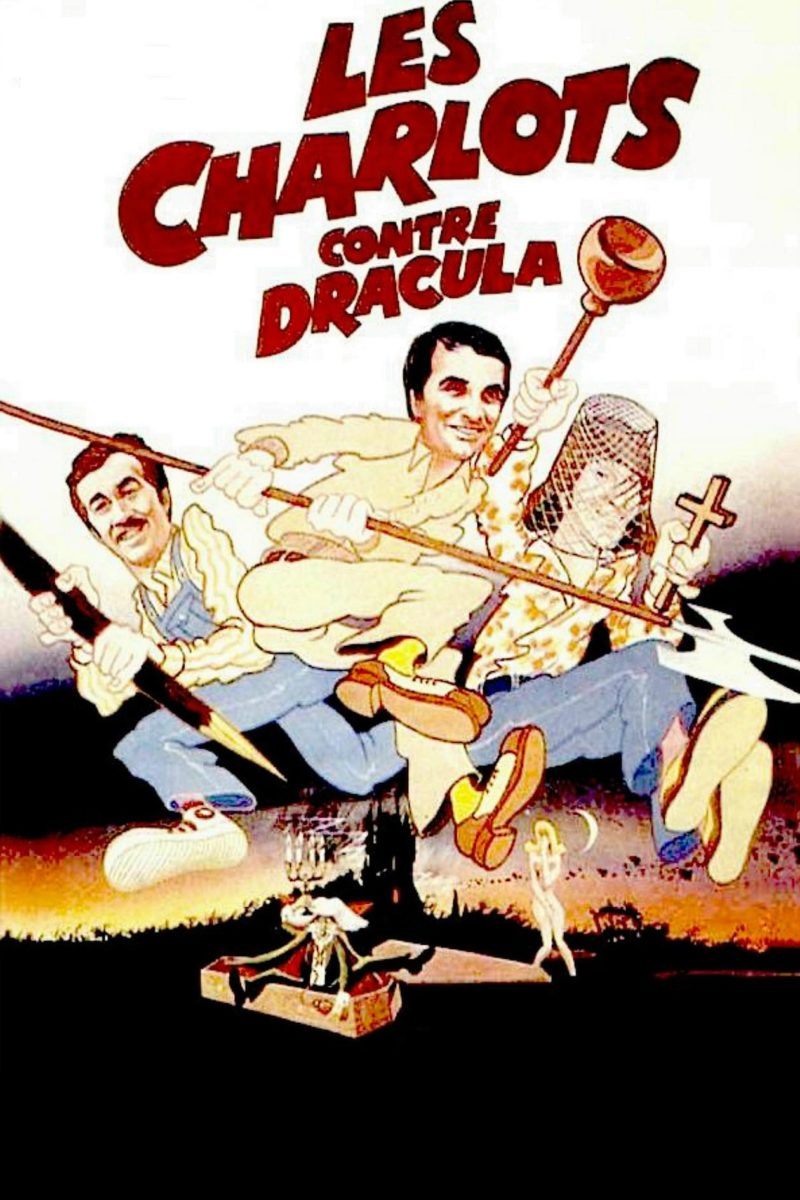Les charlots contre Dracula - Affiche