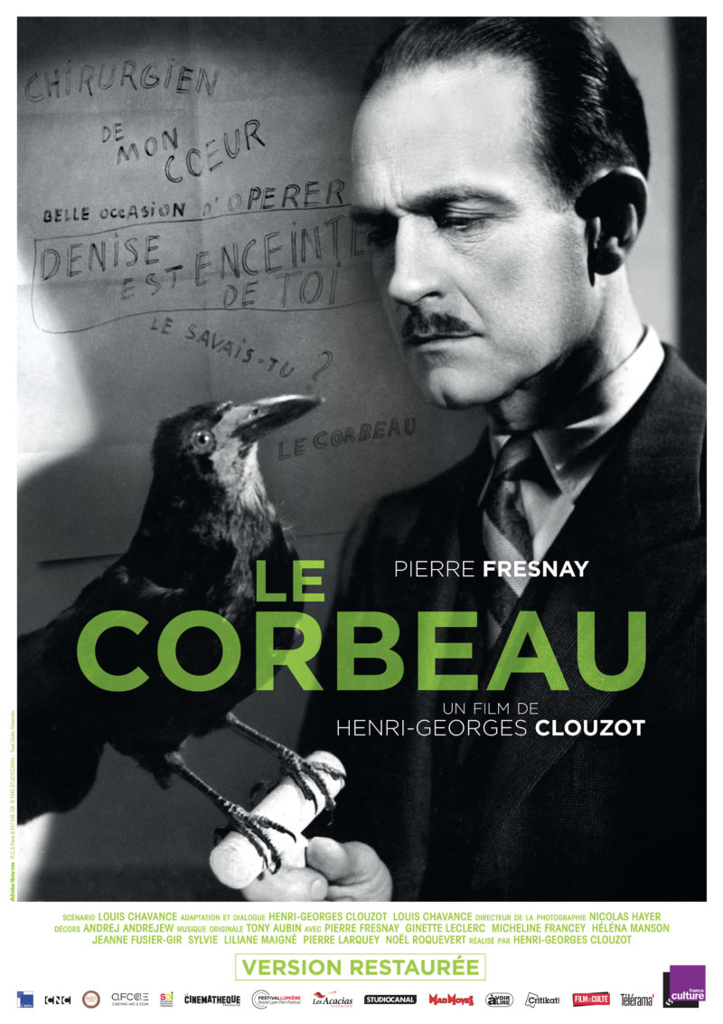Le Corbeau - Affiche