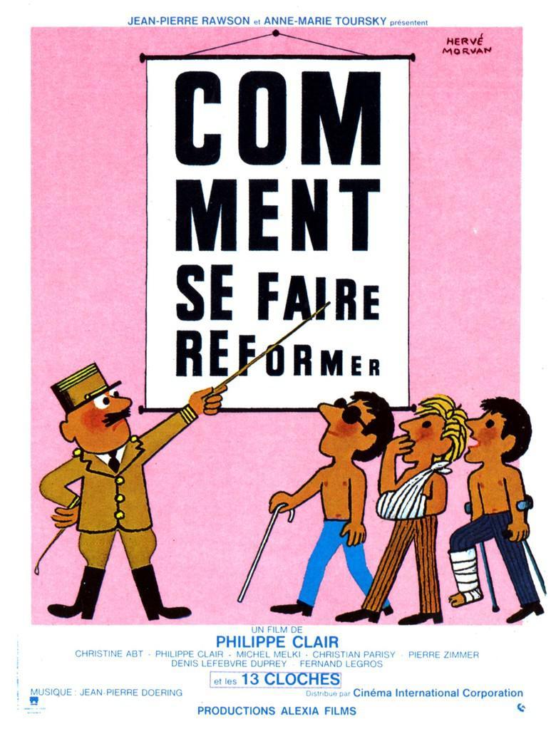 Comment se faire réformer - Affiche