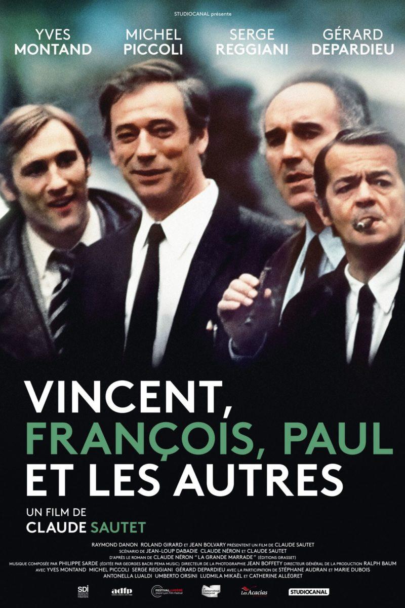 Vincent, François, Paul et les autres - Affiche